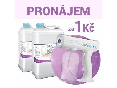 Atomizer pro školy a školky + 2 x 5l PROdezi HOME - pro ATOMIZER - polymerová dezinfekce