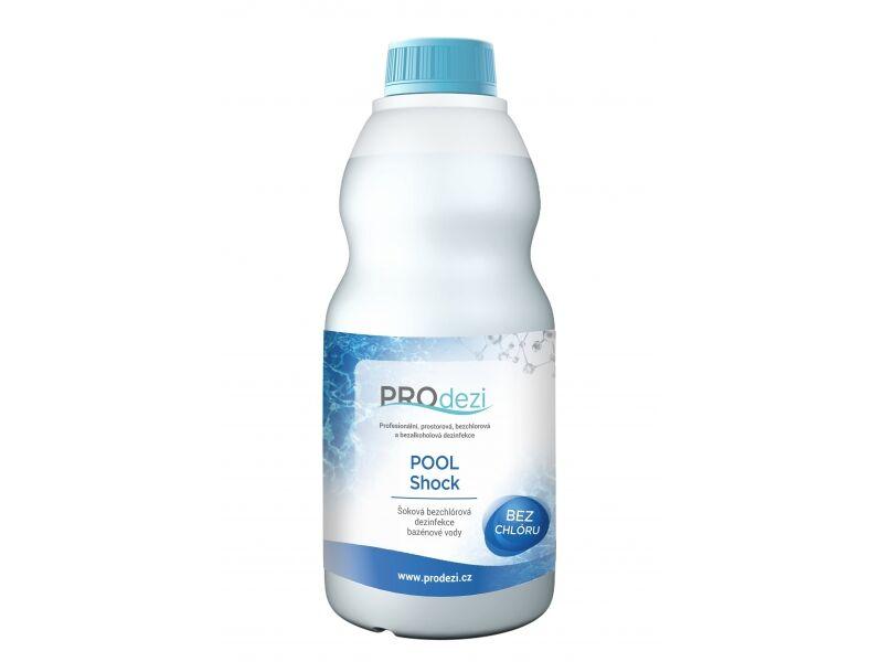 PROdezi POOL Shock 3l - bezchlórová bazénová chemie pro šokovou dezinfekci vody