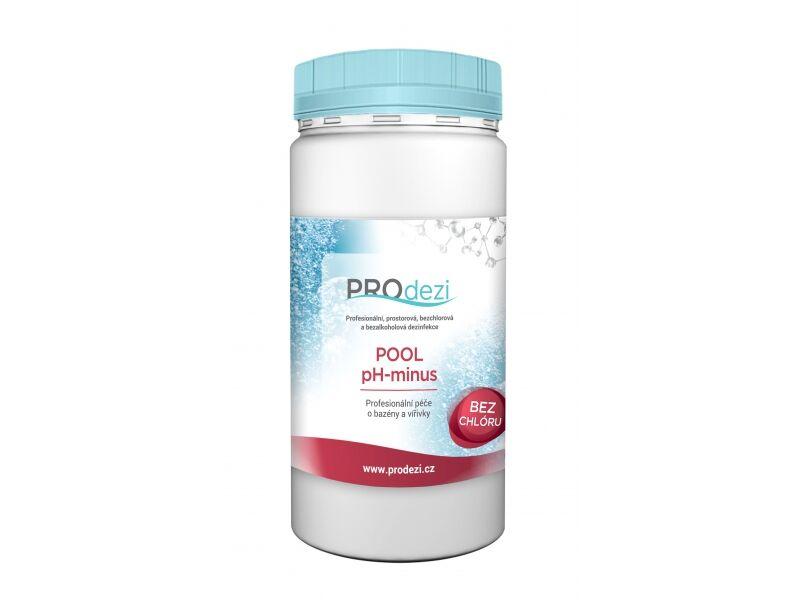 PROdezi POOL PH minus 1,4kg -  snížení pH vody