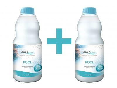 PROdezi POOL1l    AKCE 1+1   -  bezchlórová bazénová chemie
