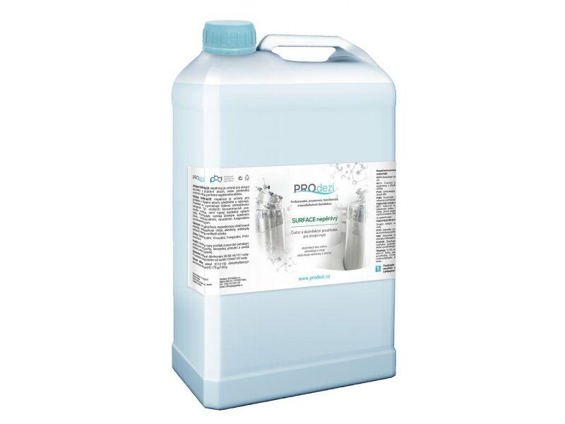 PROdezi SURFACE nepěnivý 5l - bezchlórový mycí a dezinfekční prostředek