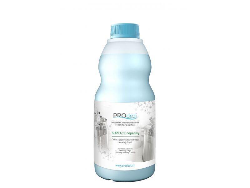 PRODEZI SURFACE nepěnivý 1l - bezchlórový mycí a dezinfekční prostředek