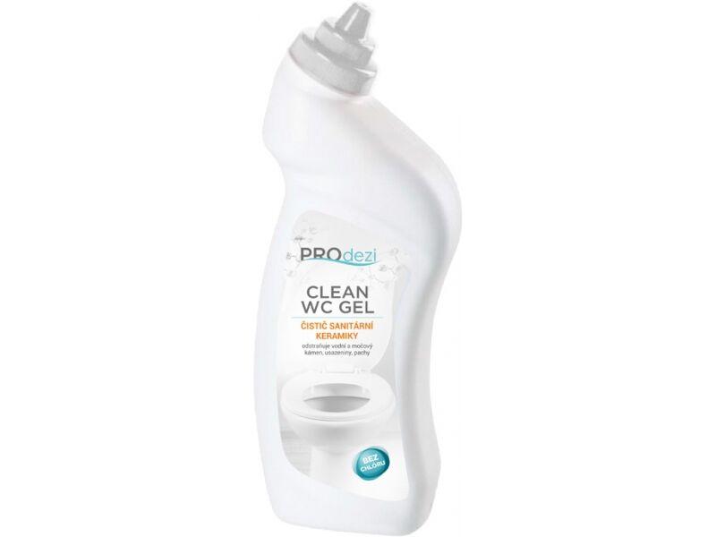 PROdezi CLEAN WC gel  0,5l- čistič sanitární keramiky