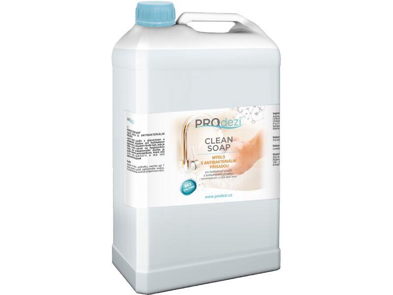 PROdezi CLEAN SOAP 5l - mýdlo s antibakteriální přísadou
