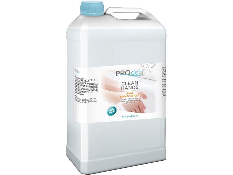 PROdezi CLEAN HANDS 5l - jemné krémové mýdlo