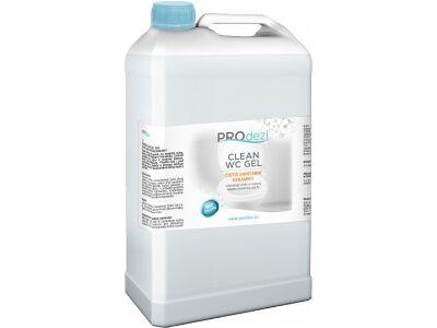 PROdezi CLEAN WC gel  3l- čistič sanitární keramiky
